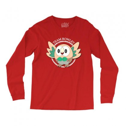 Team Rowlet Long Sleeve Shirts Designed By Rardesign