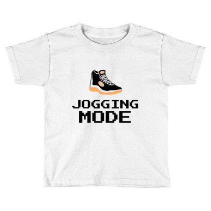 Jogging Mode Toddler T-shirt Designed By Artmaker79