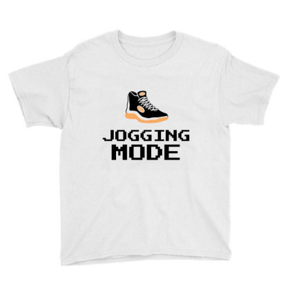 Jogging Mode Youth Tee Designed By Artmaker79
