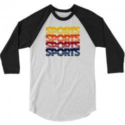 vintage sports 3/4 Sleeve Shirt | Artistshot