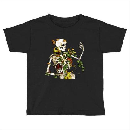 Amazing Bones And Botany Toddler T-shirt Designed By Jablay