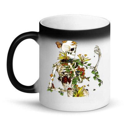Amazing Bones And Botany Magic Mug Designed By Jablay