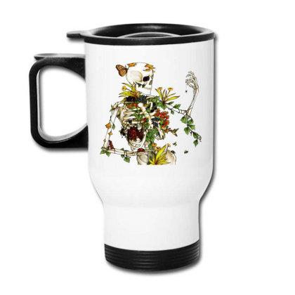 Amazing Bones And Botany Travel Mug Designed By Jablay