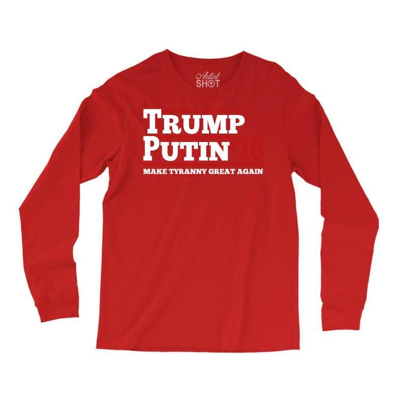 Trump Putin 2016 Long Sleeve Shirts | Artistshot