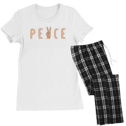 Peace Women's Pajamas Set | Artistshot