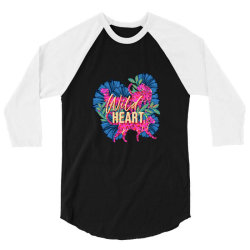 wild heart 3/4 Sleeve Shirt | Artistshot