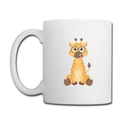 Giraffe With Glasses Coffee Mug Designed By Yahia1