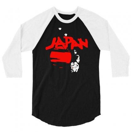 Japan Adolescent Sex 3/4 Sleeve Shirt Designed By Hezz Art