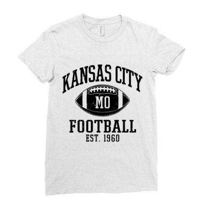 Kansas City 2020 Vintage Ladies Fitted T-shirt Designed By Suettan