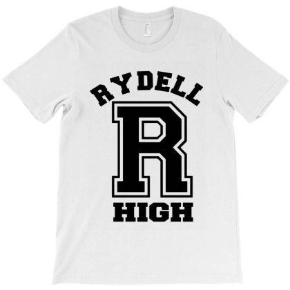 Rydell High Funny  Retro Grease Musical T-shirt Designed By Loye771290