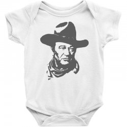 john wayne the duke Baby Bodysuit | Artistshot