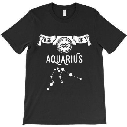 Aquarius Is Our Age T-shirt Designed By Sista
