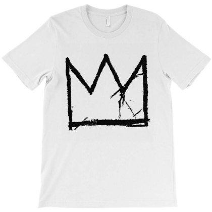 Basquiat King In Black T-shirt Designed By Sista