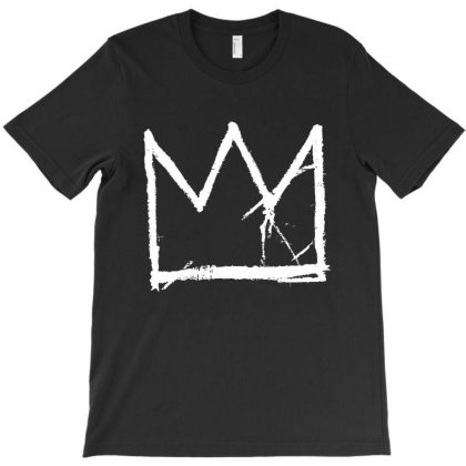 Basquiat King In White T-shirt Designed By Sista
