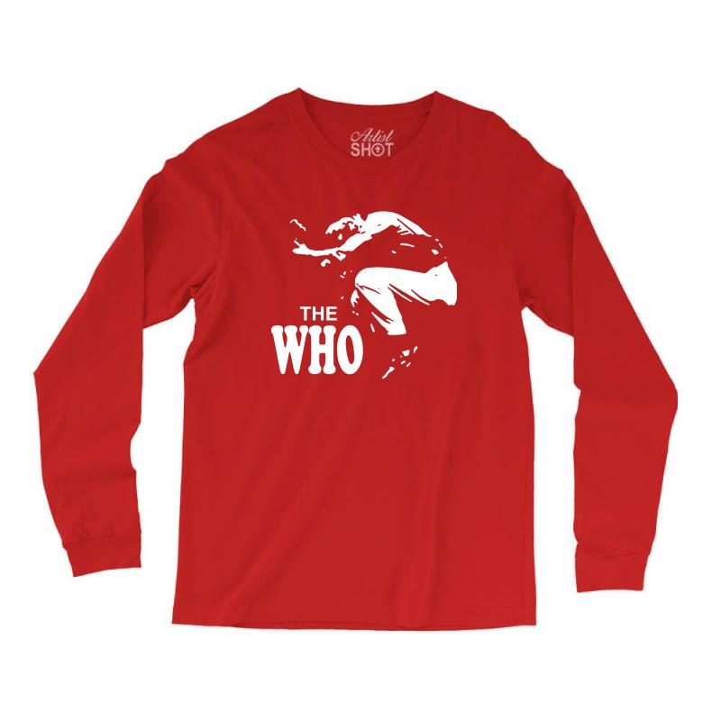 The Who Stencil Long Sleeve Shirts | Artistshot