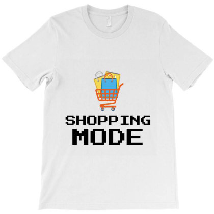 Shopping Mode T-shirt Designed By Artmaker79