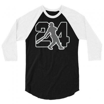 Ken Griffey Jr 3/4 Sleeve Shirt Designed By Hezz Art