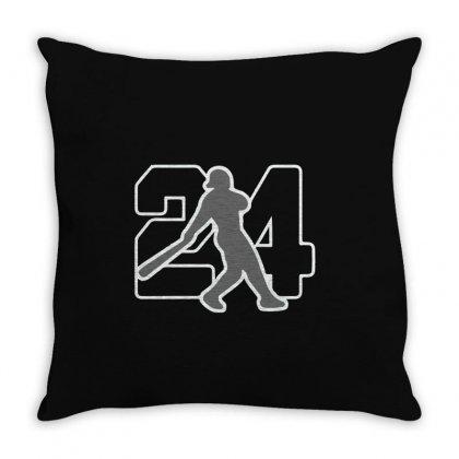 Ken Griffey Jr Throw Pillow Designed By Hezz Art