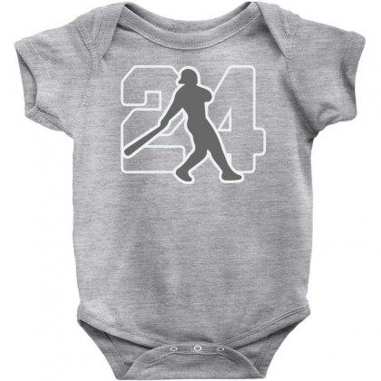 Ken Griffey Jr Baby Bodysuit Designed By Hezz Art