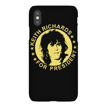 Keith Richards For President Iphonex Case Designed By Hezz Art