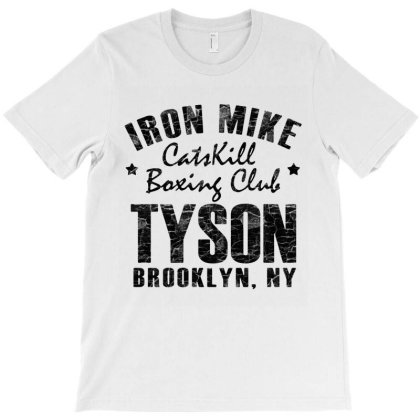 Catskill Boxing Club On Brooklyn Black Style T-shirt Designed By Valerie  Apparel