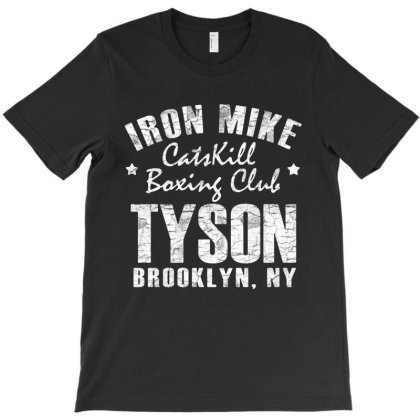 Catskill Boxing Club On Brooklyn White Style T-shirt Designed By Valerie  Apparel