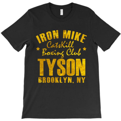 Catskill Boxing Club On Brooklyn Golden T-shirt Designed By Valerie  Apparel