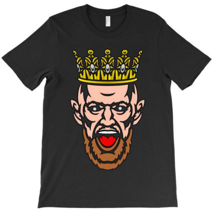 Conor Mcgregor The King T-shirt Designed By Valerie  Apparel