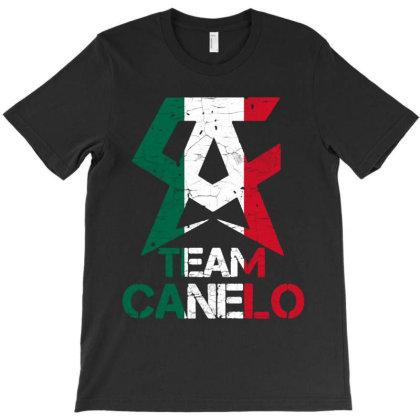 Team Canelo T-shirt Designed By Valerie  Apparel
