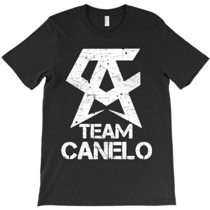 Team Canelo Vintage T-shirt Designed By Valerie  Apparel