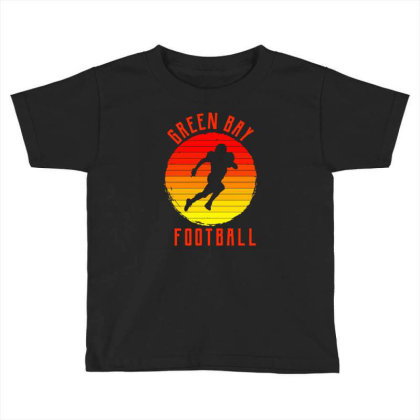 Green Bay For People Who Like Beach American Football And Sports Toddler T-shirt Designed By Toldo