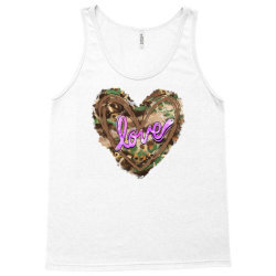 love camouflage heart Tank Top | Artistshot