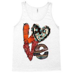 love cowhide heart Tank Top | Artistshot