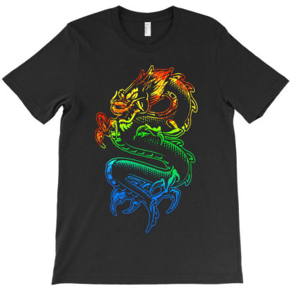 Dragon T-shirt Designed By Valerie  Apparel