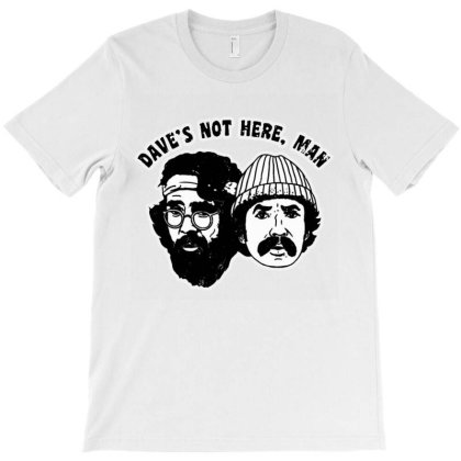 Dave's Not Here T-shirt Designed By Valerie  Apparel