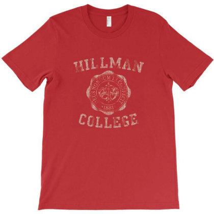 Hillman College Emblem T-shirt Designed By Dureds