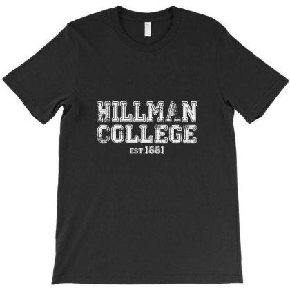 Hillman College Est 1881 T-shirt Designed By Dureds