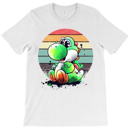 Yoshi Vintage T-shirt Designed By Valerie  Apparel