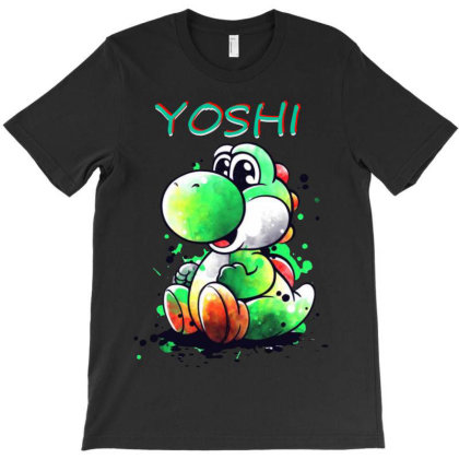 Yoshi T-shirt Designed By Valerie  Apparel