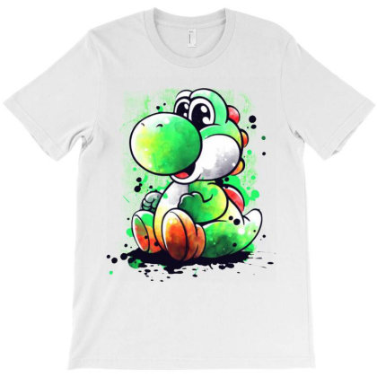 Yoshi Alone T-shirt Designed By Valerie  Apparel