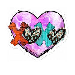 Xoxo Valentine Sticker Designed By Badaudesign