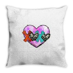 Xoxo Valentine Throw Pillow Designed By Badaudesign
