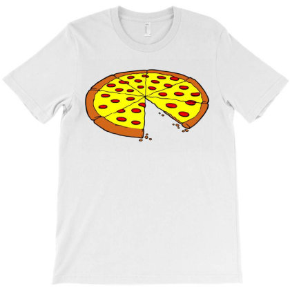 Pizza Slice Dad T-shirt Designed By Sephanie