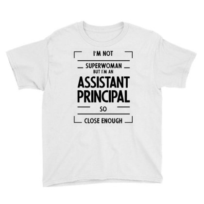 Assistant Principal - Job Occupation Gift Cool Youth Tee Designed By Diogo Calheiros