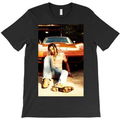 Red Car For 24kgoldn T-shirt Designed By Cuser1898