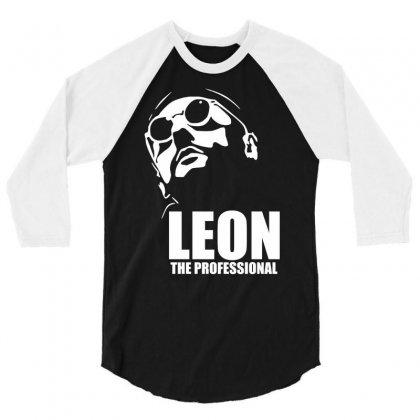 Leon Le Professionnel 3/4 Sleeve Shirt Designed By Hezz Art