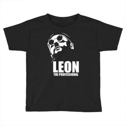 Leon Le Professionnel Toddler T-shirt Designed By Hezz Art