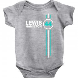 lewis hamilton number 44 Baby Bodysuit | Artistshot