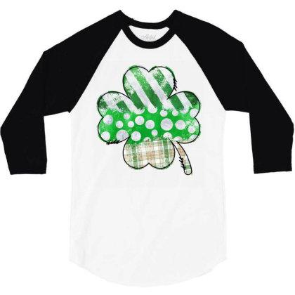 Lucky Design 3/4 Sleeve Shirt Designed By Badaudesign