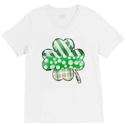 Lucky Design V-neck Tee Designed By Badaudesign
